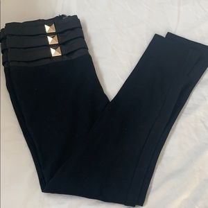 High waist Bebe leggings